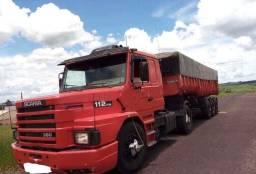 Scania 112 caçamba