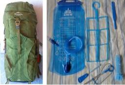 Mochila Cargueira 65l + Hidro 3l + Kit De Higiene Com 4pcs