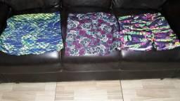 Roupas de Ginástica, top,blusinha, short fitness R$ 15.00 cada