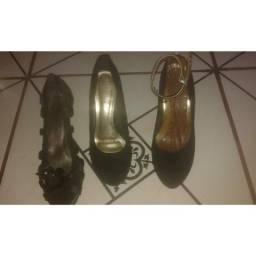 Sapatos 15 reais os 3