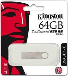 Pen Drive Kingston 64 Gb Usb 2.0 Dt Se9