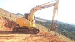 Vendo Escavadeira Komatsu PC138