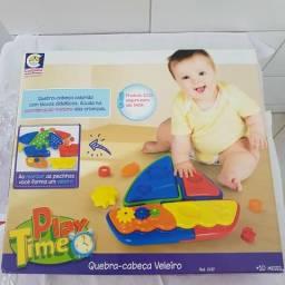 Quebra-cabeça Veleiro Play Time Cotiplás