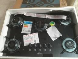 Fogão cooktop 5 bocas novo na caixa