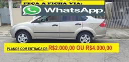 Ford Fiesta Financie com score baixo entrada de 2000 a 4000