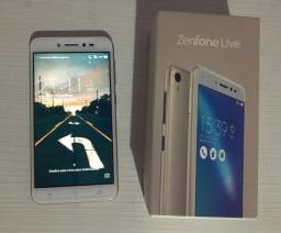 Zenfone Live Dourado TV, 16gb PRATICAMENTE NOVO