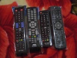 Controles remoto principais marcas de Tvs Smart AOC Lg Samsung Philips etc só novos