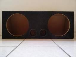 Box (caixa) para 2 Subs de 12 polegadas (em perfeitas condições)