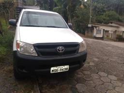 Toyota hilux cabine simples 4x4 - 2007