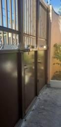 Portão de ferro 3,00x2,80