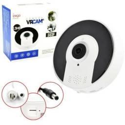 Camera Panoramica Segurança 3d Wi-fi 360° Vr Cam - Entrega Grátis em Maceió