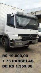 Mb Atego 2425 Baú 2011 - 2011