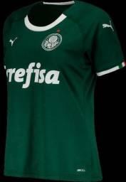 Camisa Feminina Palmeiras Home 2019/2020 Pronta Entrega