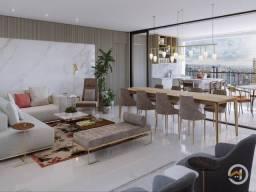 Apartamento à venda com 4 dormitórios em Setor oeste, Goiânia cod:2543