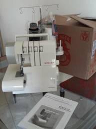 Máquina De Costura Doméstica Ultralock 14Sh754 - Singer - 220V? comprar usado  Jacareí