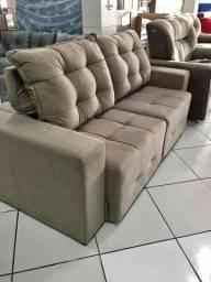 %%% Sofa retratil e reclinavel 200 de largura - frete gratis