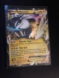 Carta Pokémon Raikou Ex