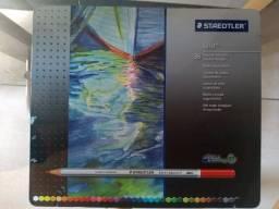 Estojo de Lápis Aquarelável, Staedtler, 36 cores
