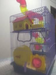 Mansão 3 andares para hamster