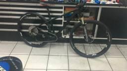 Bike mtb 29er carbono comprar usado  Campo Bom