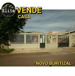 VENDE CASA - NOVO BURITIZAL