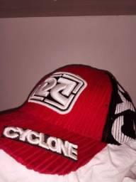 Boné Cyclone original vermelho