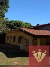 Chácara com 2 dormitórios para locação por R$ 600 - Roseira - Mogi Guacu/SP