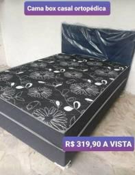 PROMOÇÃO: Camas box casal a partir de R$ 319,90 a vista