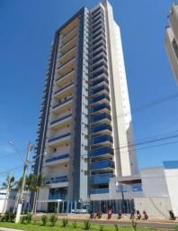 Apartamento com 3 suítes no Montblanc Residence, em frente o lago de Rio Verde