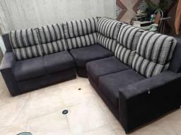 Vende-se sofá usado de canto