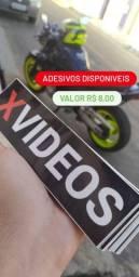 Adesivo XVIDEOS para moto/carro/bike etc.