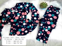 Pijamas Infantil Soft