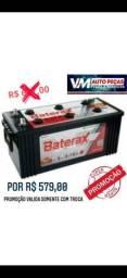 Baterias automotivas de todos os tamanhos