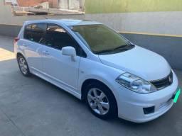 Tiida SL Automático Branco 2012 - Único Dono