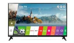 Smart Tv 43'' Polegadadas Full HD com Conversor Digital + Suporte Fixo Parede [Grátis]