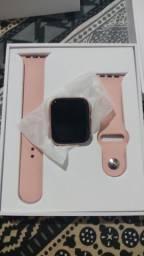 Iwo 13 série 6 dourado + pulseira  Smartwatch