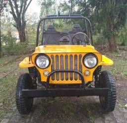 Jeep para trilha.