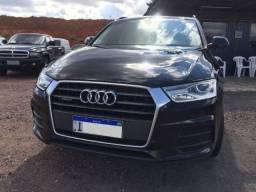 Audi q3 180 cv TFSI preto onix 2º dono , manual nf origem chave cópia 2016