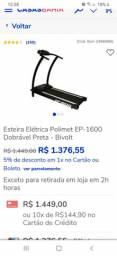VENDO ESTEIRA SEME NOVA COM NOTA FISCAL R$ 500 MEU ZAP *