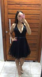 Vestido de festa/formatura Preto