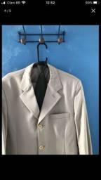 Terno completo paletó, calça 42 + gravata