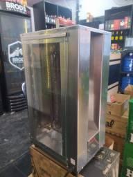 Churrasqueira Elétrica Espetinho Com Sistema Giratório