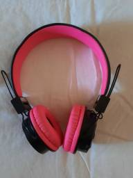 Fone Bluetooth Rosa