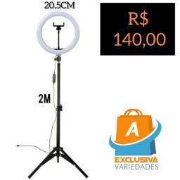 Ring Light 20,5 Com Pedestal de 2M + Entrega Grátis