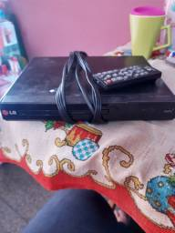 DVD LG com controle