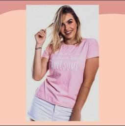 T-shirts femininas, blusas e camisetas