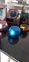 Mini caixinhas bluetooth speaker recarregável