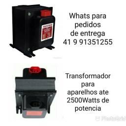 Transformador 5000va /Recomendado em aparelho de até 2300 Watts