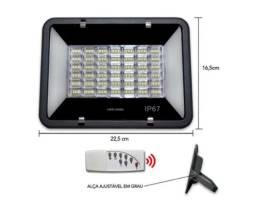 Kit Refletor 100W Com Painal Solar