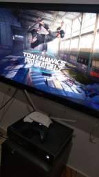 Xbox one 500gb+ 1 controle+ Tony Hawk 1 2+ Hitman 2 edição gold